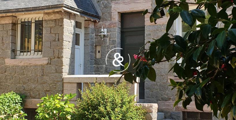 Côte Et Bretagne Immobilier Votre agence bord de mer Côte d'Emeraude - Côte de Granit Rose - Baie de Saint-Brieuc - maison centre ville - Prestige Luxe
