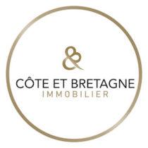 agence immobiliere agence immobiliere prestige saint-brieuc cote et bretagne immobilier logo-C&B_rond