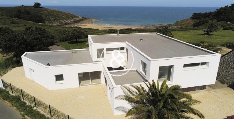 maison villa demeure propriete vue mer contemporaine